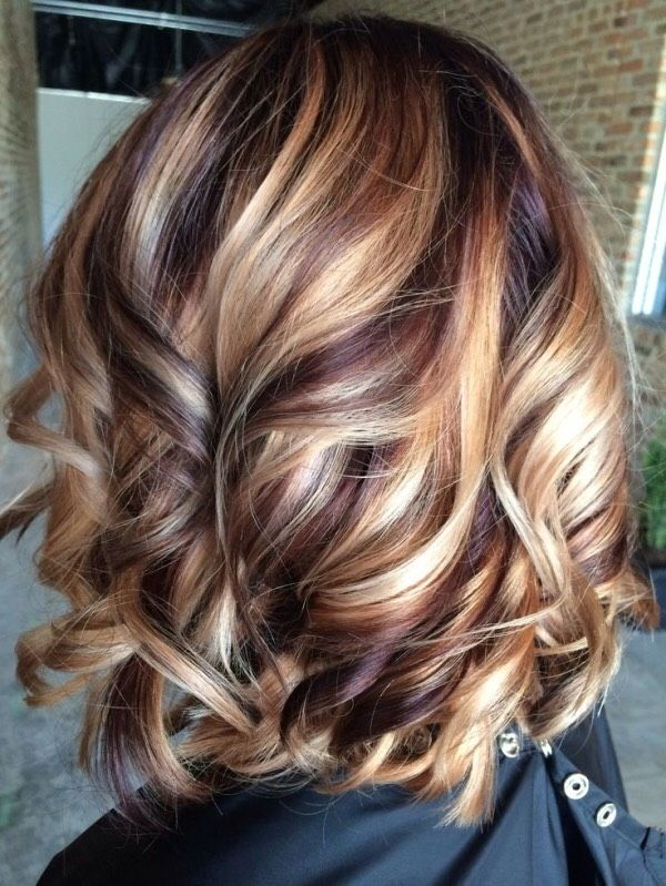 Fall Hair Colors With Highlights