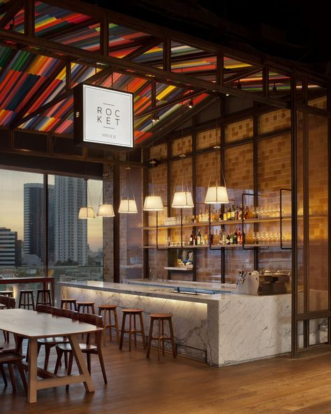 Rocket coffee bar at Siwilai Bangkok