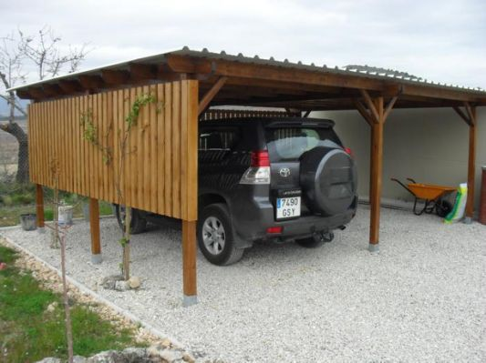 How To Build A Flat Roof Carport Garage Ideas In 2018 Pinterest