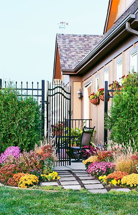 Make An Entrance To Your Garden With Colorful Easy Care Plants