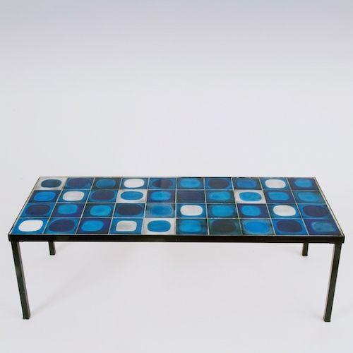 Roger Capron Coffe Table Planete Table Basse Table Et Mobilier