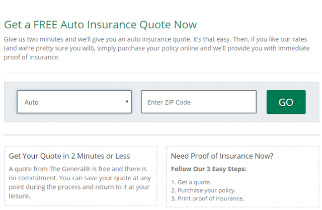 The General Auto Insurance Quote When It Comes To Evaluating Car Insurance Quotes There Are Several .
