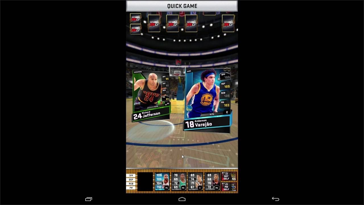 MyNBA2K17 NEW Android Gameplay 1 MyNBA2K17 is a Android
