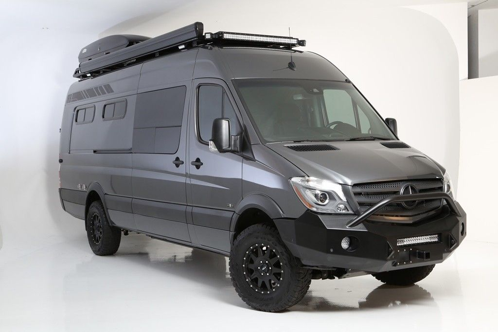 MF Adventure Sprinter Van - 170ex 2500 4x4 … | Mercedes ...