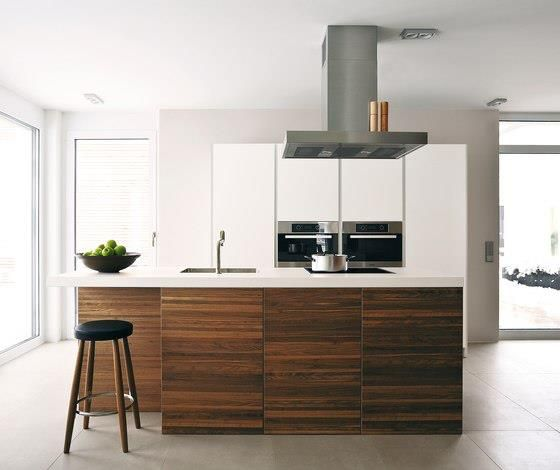 love the wood and white quartz combo