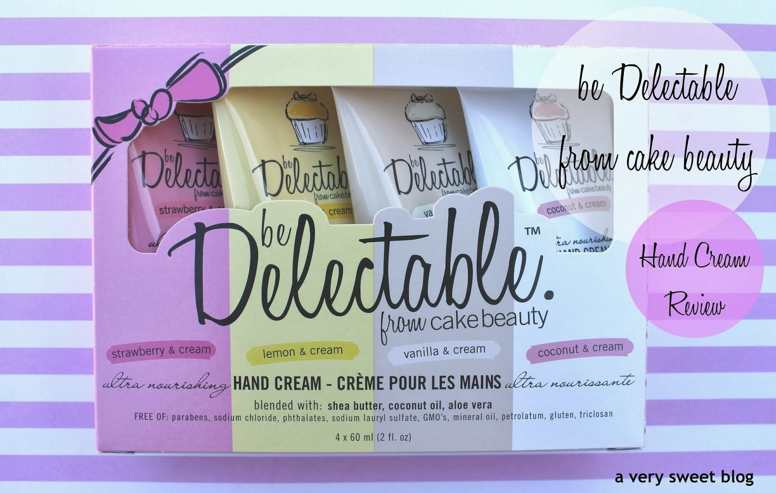 A Very Sweet Blog Be Delectable Hand Cream from Cake