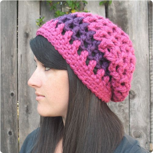 Gleeful Things Waffle Cone Slouchy Hat One Of My Fav Free Hat