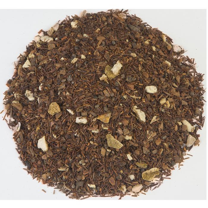 CHAI MASSAI | Een natuurlijk rooibosthee, maar dan net een beetje anders. Door de toevoeging van verschillende kruiden krijgt deze thee echt een eigen karakter. Onze tip: voeg een beetje melk toe, een dotje slagroom of zoet de thee met wat honing. Chai Massai Rooibos wordt vaak gebruikt als cafeïnevrij alternatief voor de klassieke zwarte of groene Chai-thee. |
