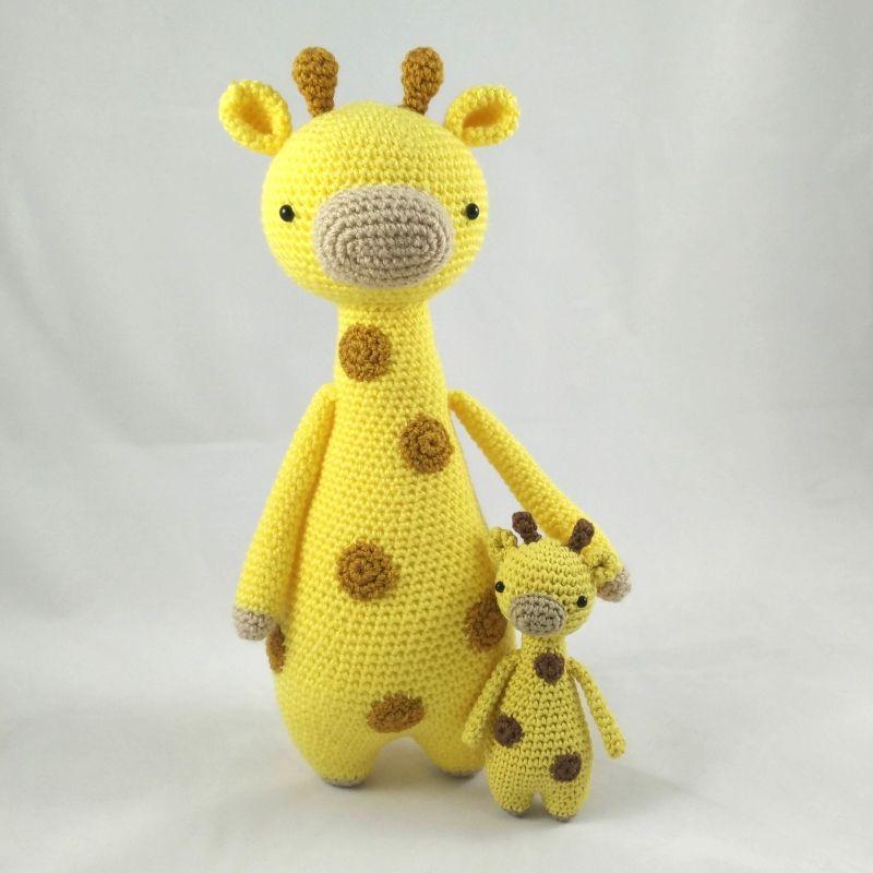 Mini Giraffe amigurumi pattern by Little Bear Crochet   Patrones ...