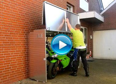 awesome die motorradgarage der film zuk nftige projekte pinterest motorrad. Black Bedroom Furniture Sets. Home Design Ideas