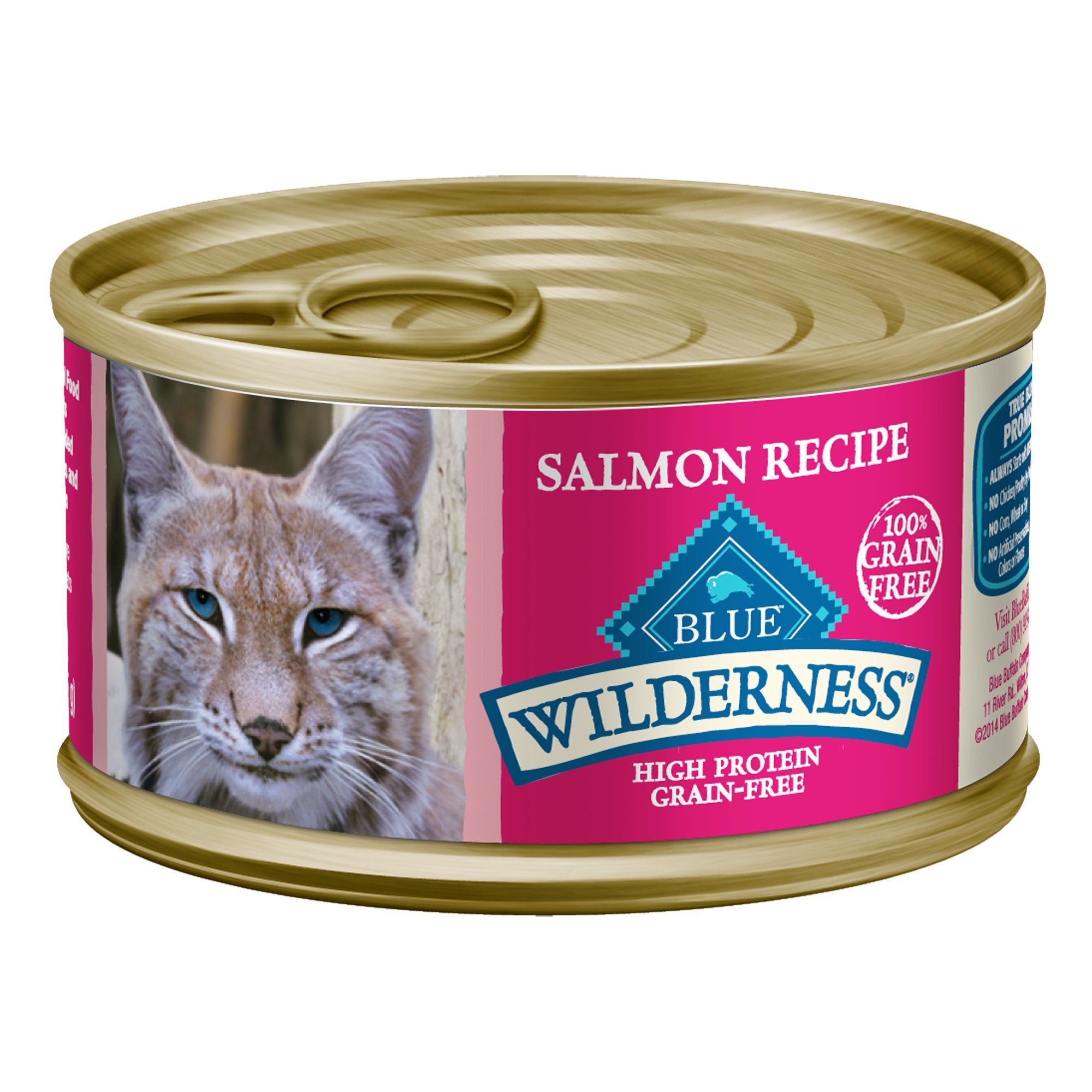 Blue Buffalo Blue Wilderness Salmon Recipe Wet Cat Food 3 Oz Case Of 24 24 X 3 Oz In 2020 Canned Cat Food Cat Food Salmon Recipes