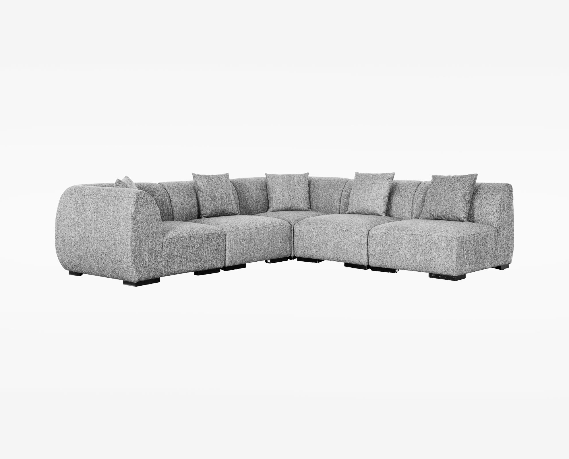 Scandinavian Designs - The Kelsey 5-piece modular sectional offers countless seating arrangements and ultimate  sc 1 st  Pinterest : kelsey sectional - Sectionals, Sofas & Couches