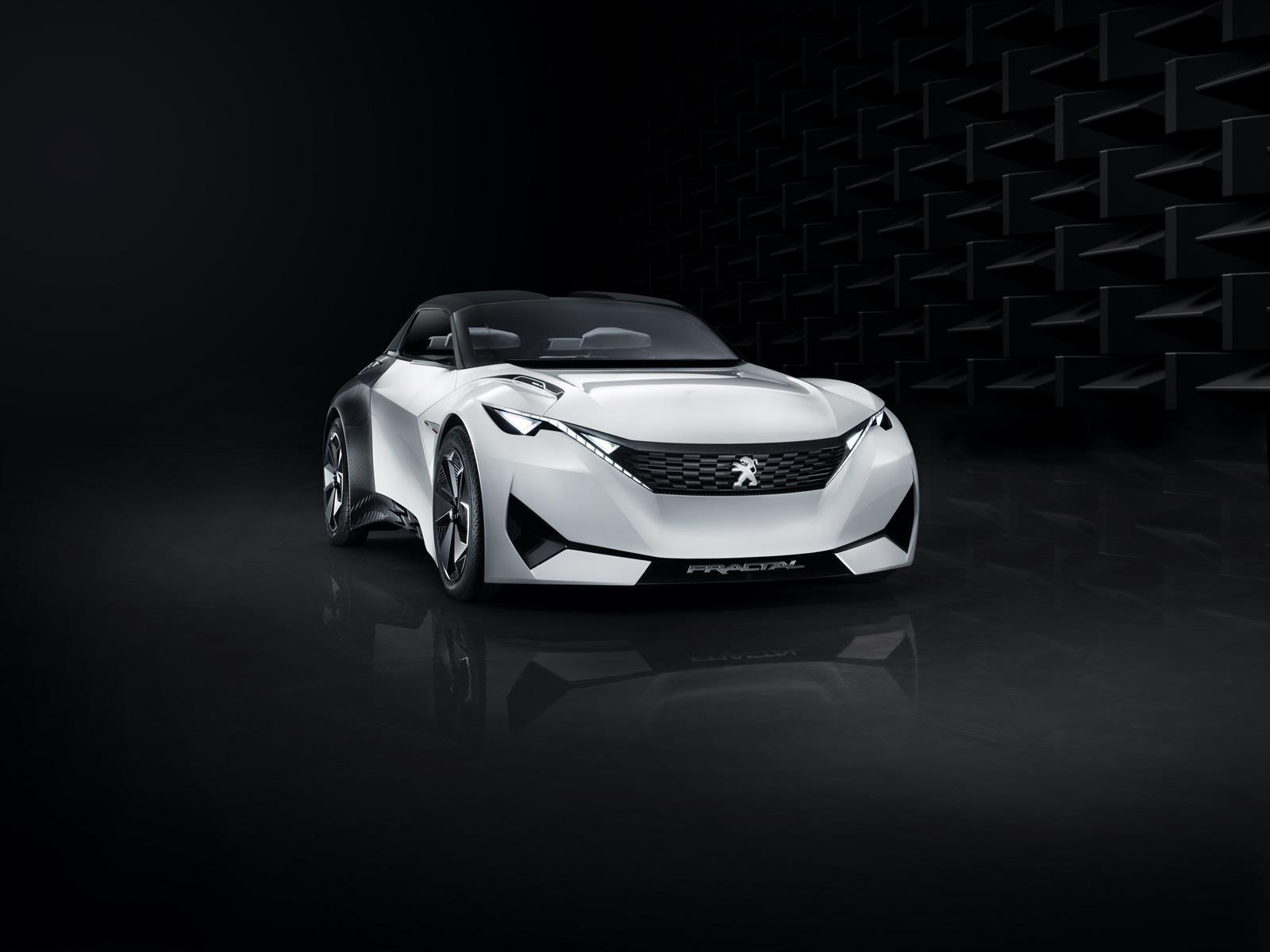 Peugeot Fractal, propulsión eléctrica y construcción 3D