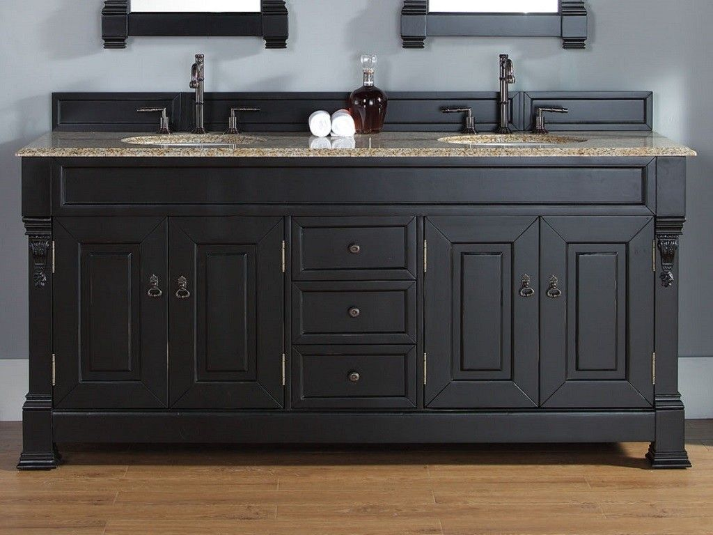 Antique Black Bathroom Cabinets Google Search Bathrooms