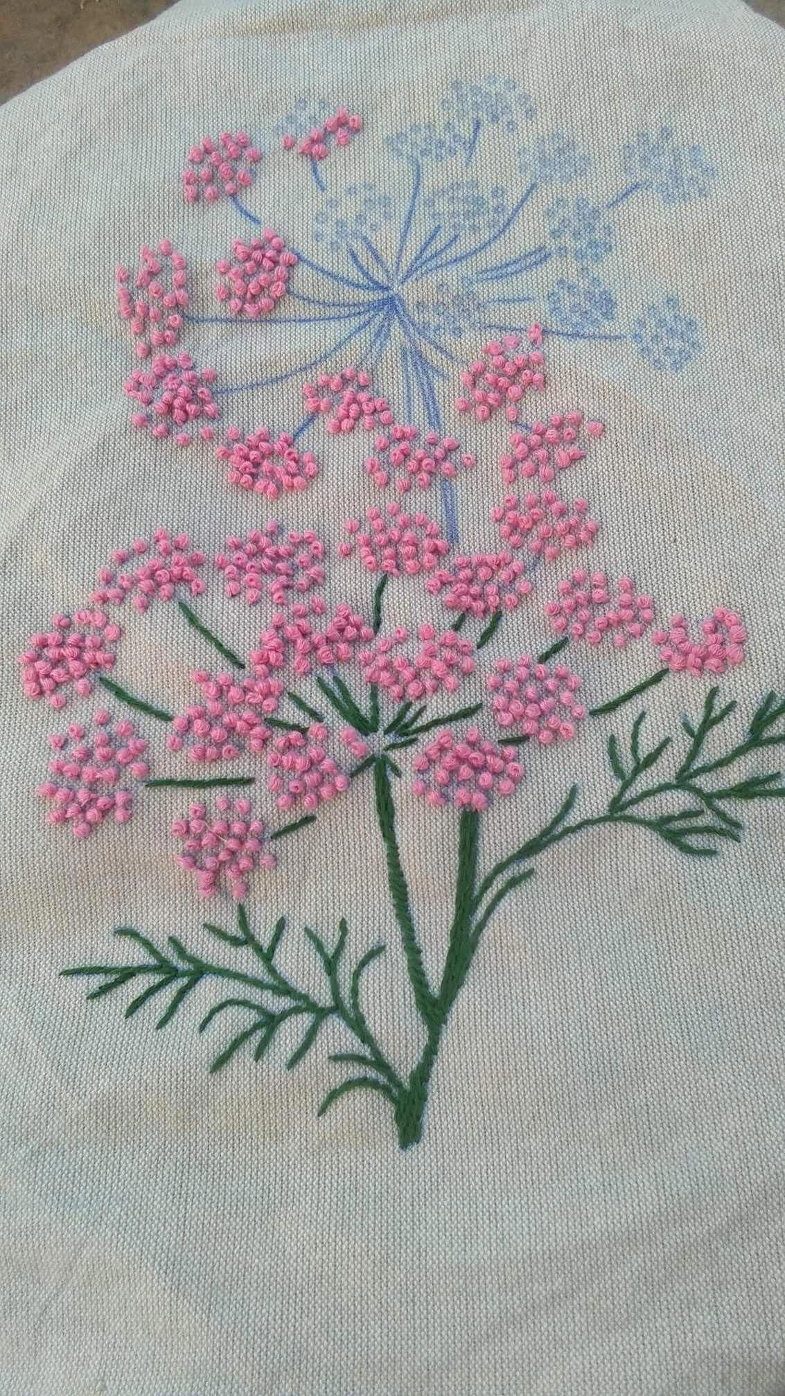 french knots youtube #Frenchknots | French knot embroidery ...