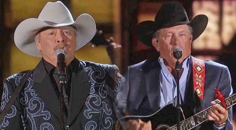 Alan Jackson And George Strait Perform Legendary Duet Of Their