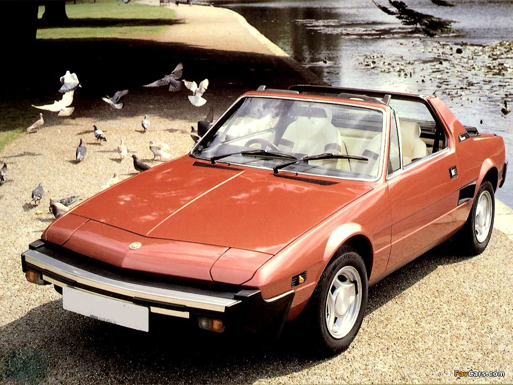 1979 Fiat X1 9 Removable Hardtop With Styling By Bertone In A