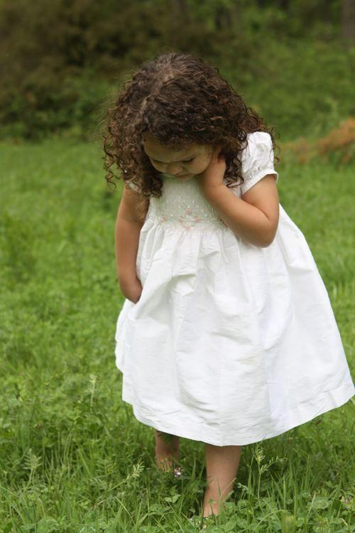 8b73973e5 Silk Flower Girls Dress Off White 3T