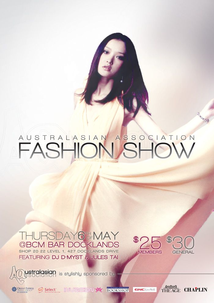 10 Best images about FASHION SHOW POSTERS – Fashion Poster Design