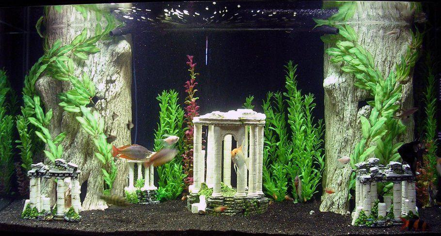 Atlantis Fish Aquarium Decorations Fish Tank Themes Tropical Fish Tanks