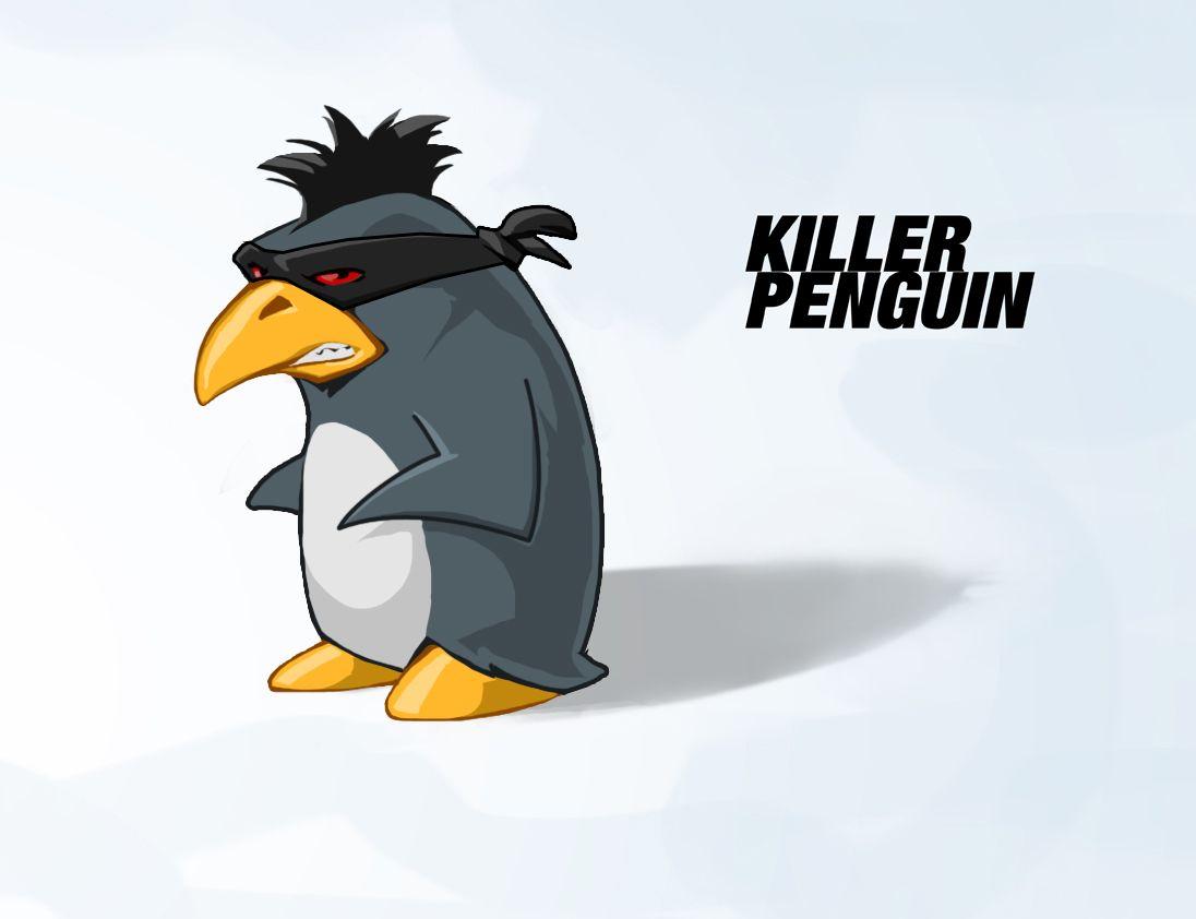 Penguin billboard redesigned #2