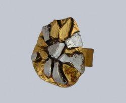 Mosadzný prsteň Scandal (!) AN221
