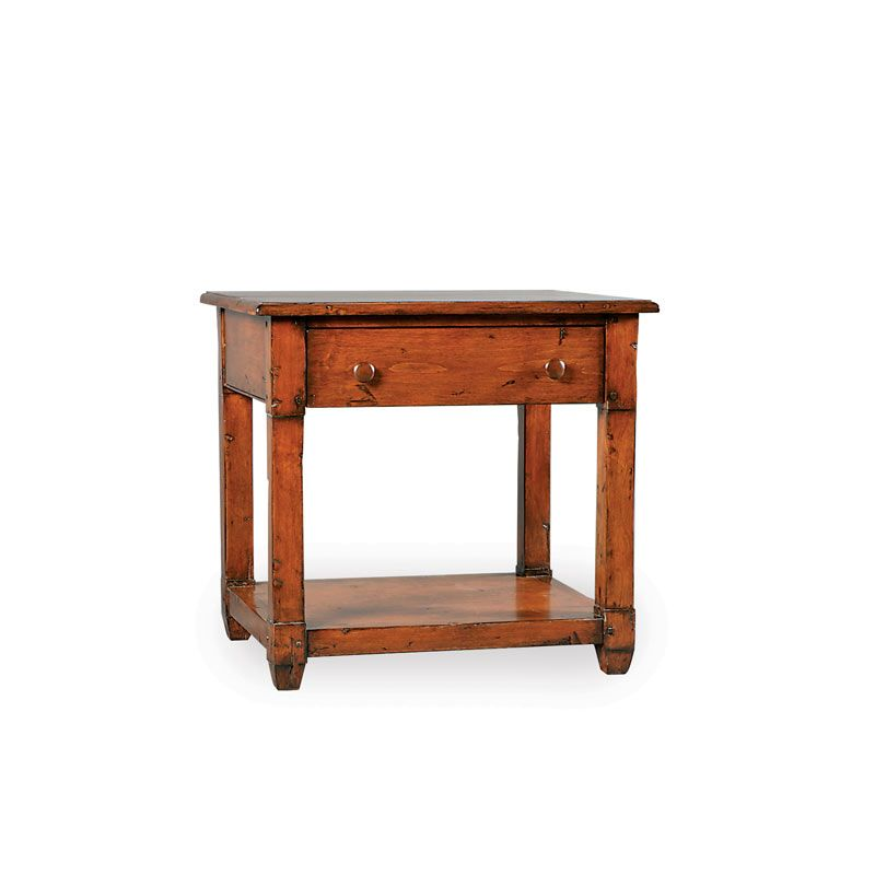 3175 – COUNTRY BEDSIDE TABLE WITH DRAWER