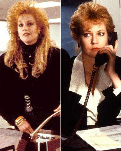 Working Girl Costume Designer Ann Roth Spent Days Observing Secretaries On The Staten Island Ferry In Order To Make Tess Melanie Griffith Look As