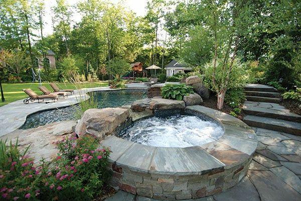Modernen-Garten-mit-einem-Jacuzzi-gestalten-Whirlpool im ...