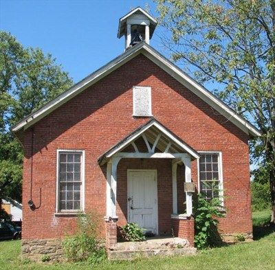 One Room School House - Hughesville, PA - One-Room ... Old One Room School Building