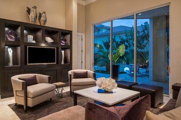 Pelican Marsh Residence  Contemporary  Living Room  Miami Stunning Living Room Miami Inspiration