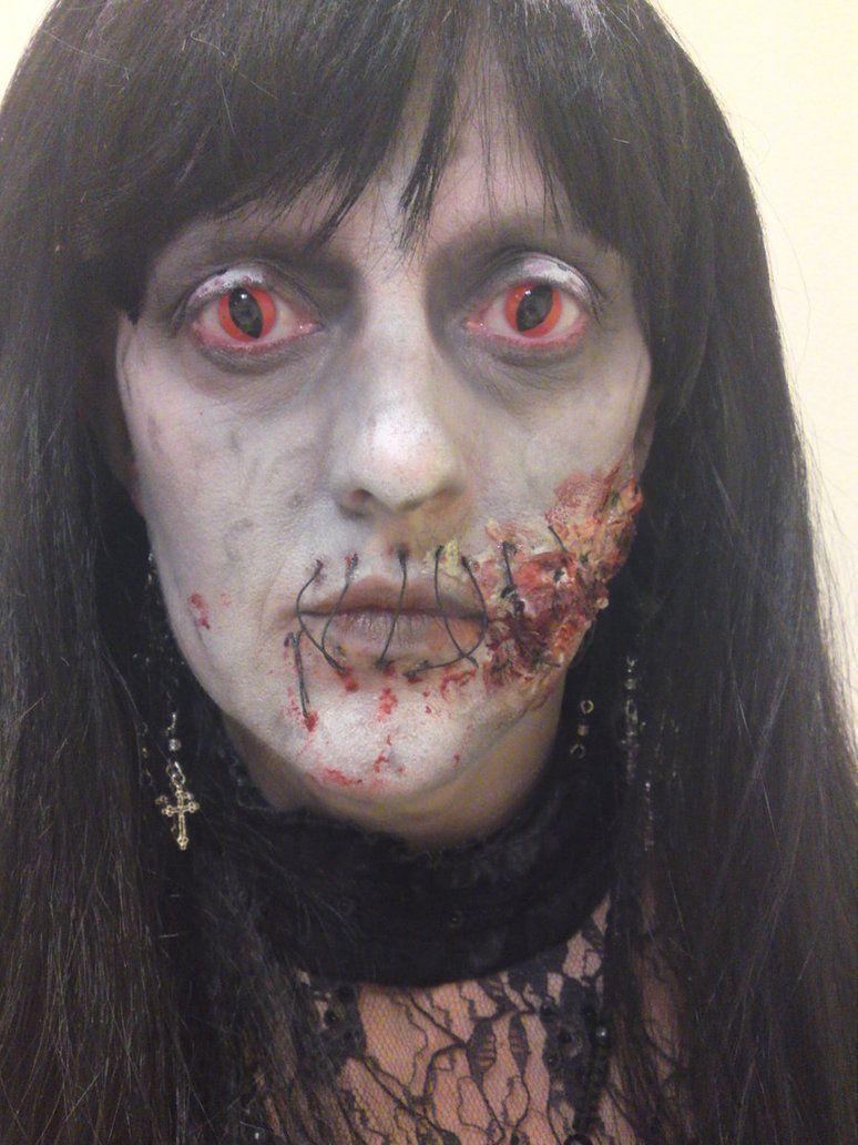halloweenmakeup scarymakeup