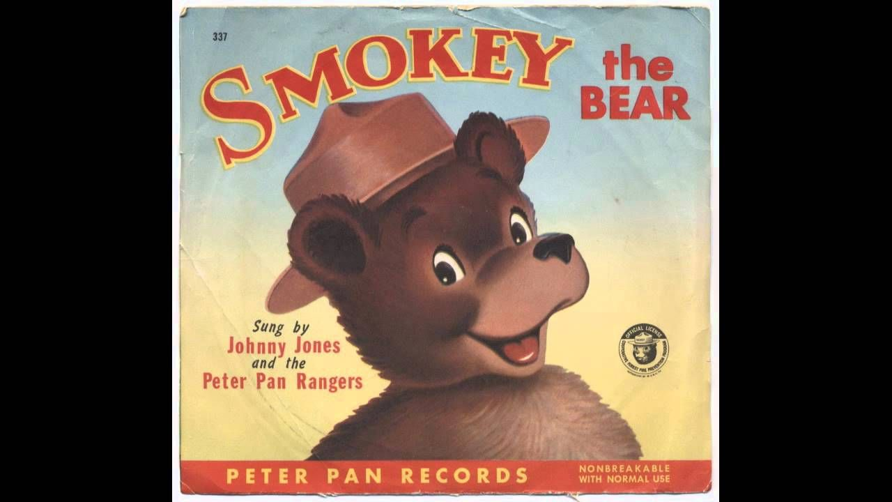 Smokey The Bear Full Version Peter Pan Records With Images