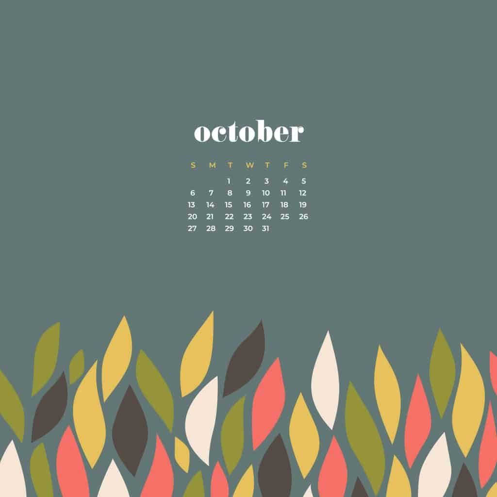 10 October 2020 Calendar Plant Floral Cute Wallpaper In 2020 Calendar Wallpaper Desktop Wallpaper Calendar October Wallpaper