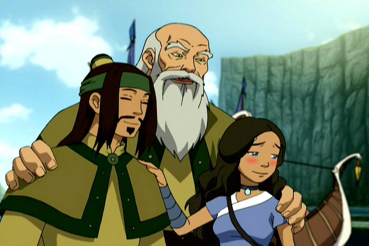 Haru Katara And Harus Dad Avatar