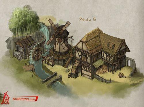 Tribal Wars 2 Gebäude