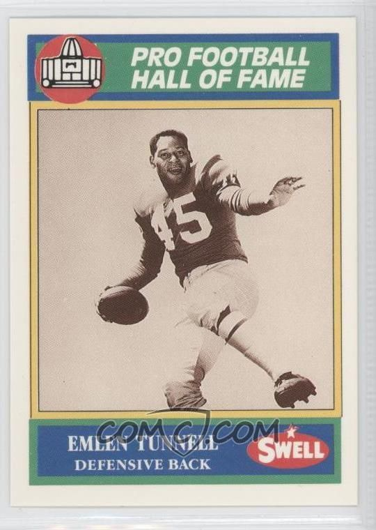 Swell Pro Football Hall of Fame Emlen Tunnell