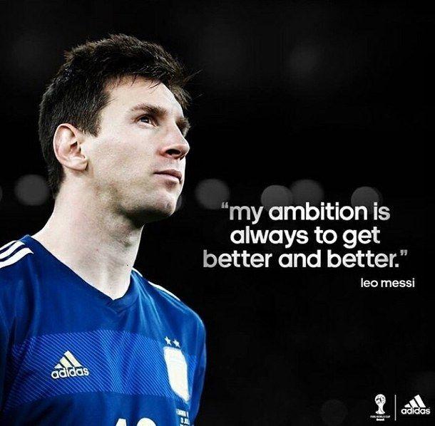 Resultado de imagen para lionel messi quotes | soccer ...