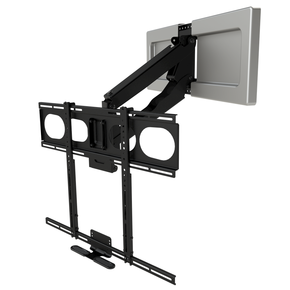 Mm340 Standard Pull Down Tv Mount Mounted Tv Wall Mounted Tv Best Tv Wall Mount