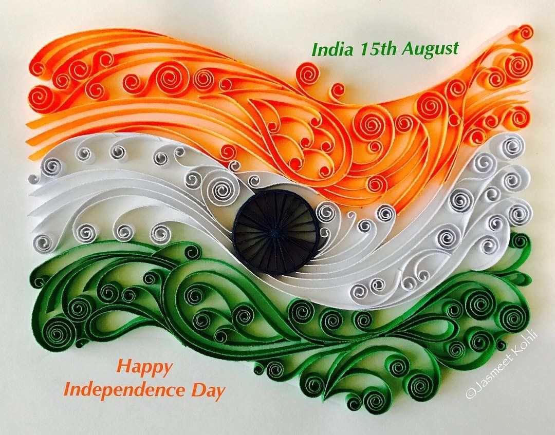 Pin by sushma bhatia on flag Quilling art, Quilling