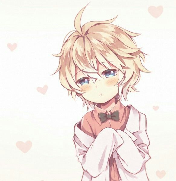 boy. blonde hair. blue eyes