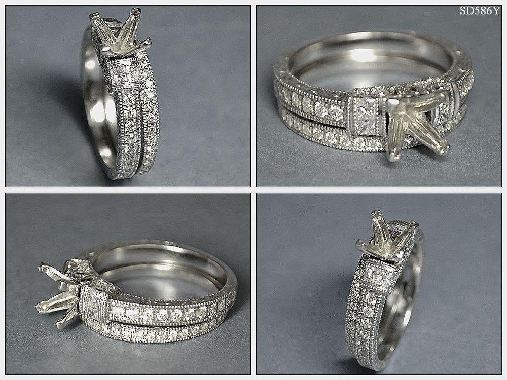 NEIL LANE SETTING Engagement RING FOR DIAMOND PR 1CT