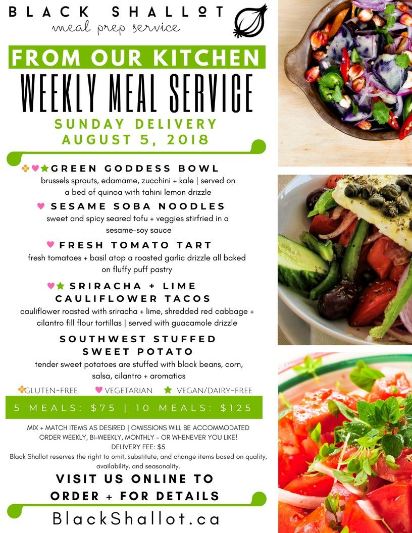 Plant Based Meal Delivery Service Menu For Delivery On Sunday August 5 Healthy Dinner Recipes Easy Easy Dinner Recipes Healthy Soup Recipes