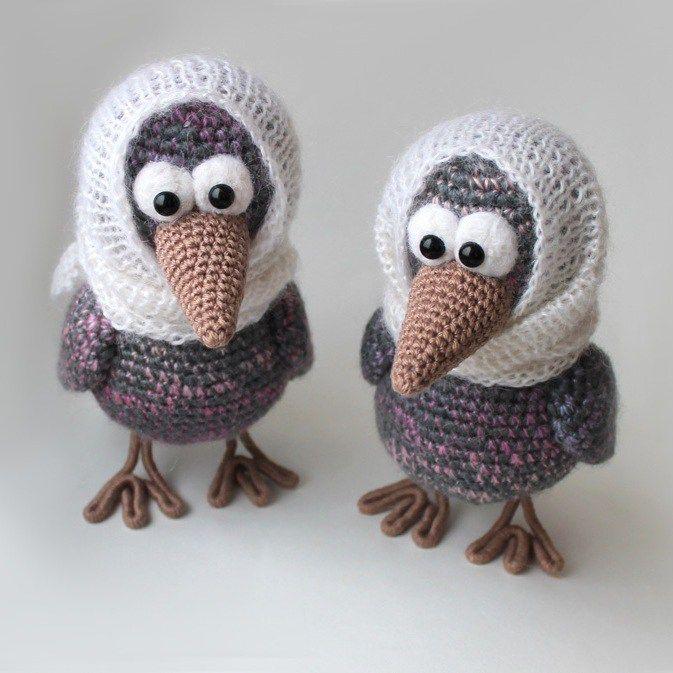 Crochet curious crow - free amigurumi pattern   Aves   Pinterest ...