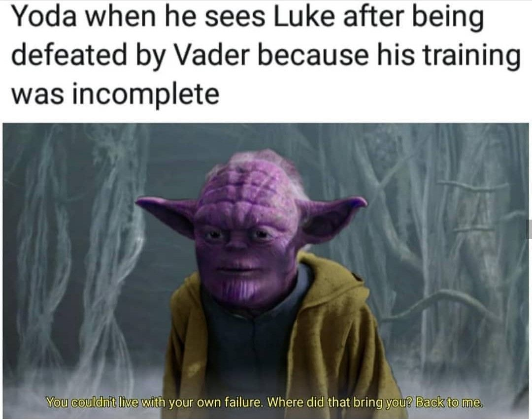 When Luke Is The Last Jedi And Grants Himself The Rank Of Master W Can You Do This This Is Outrageous Its Unfair Ifunny Star Wars Facts Star Wars