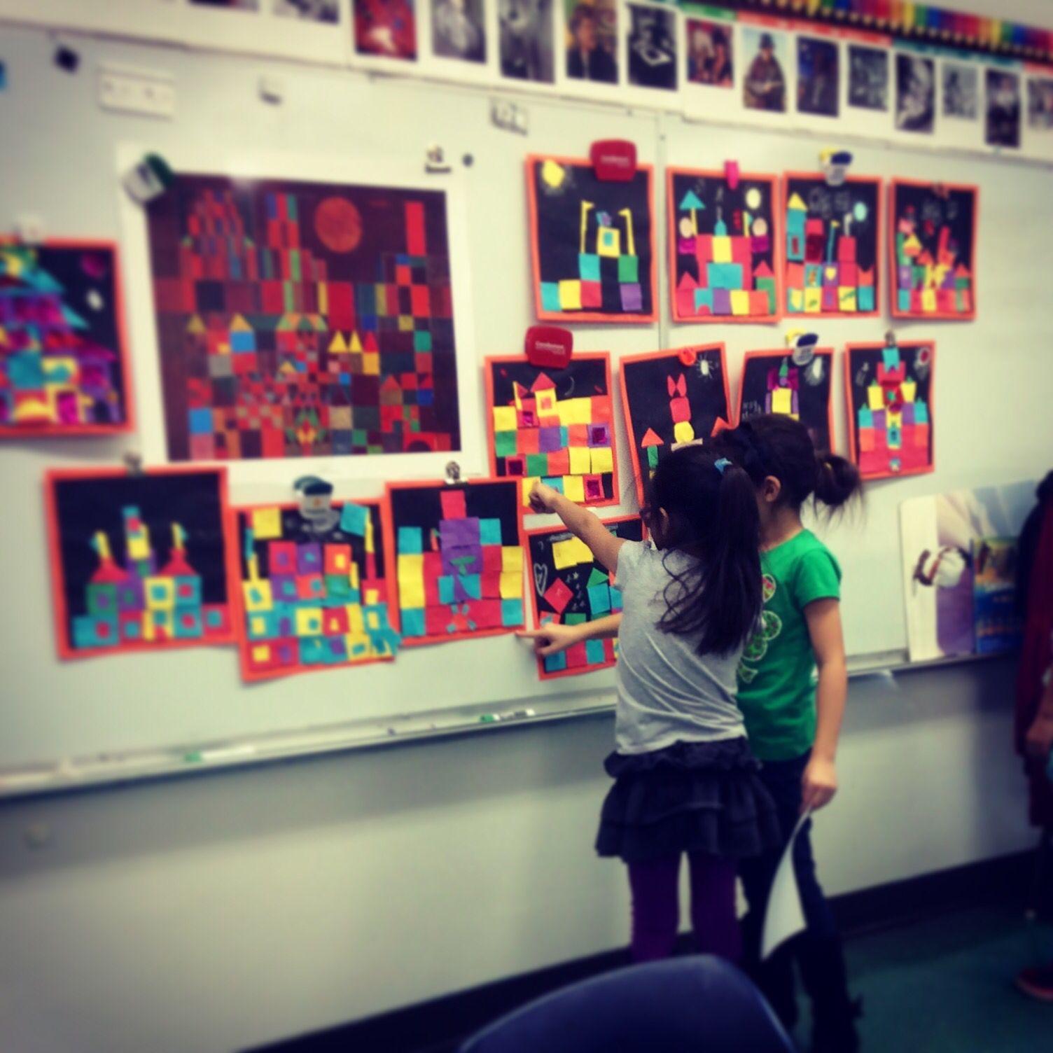 Kids Appreciating Their Klee Castles
