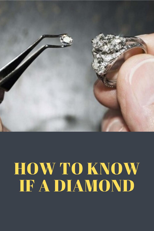 Diamonds How To Know If A Diamond Is Fake Or Real Fake Diamond Bridemaid Jewelry Jewelry Rings Diamond