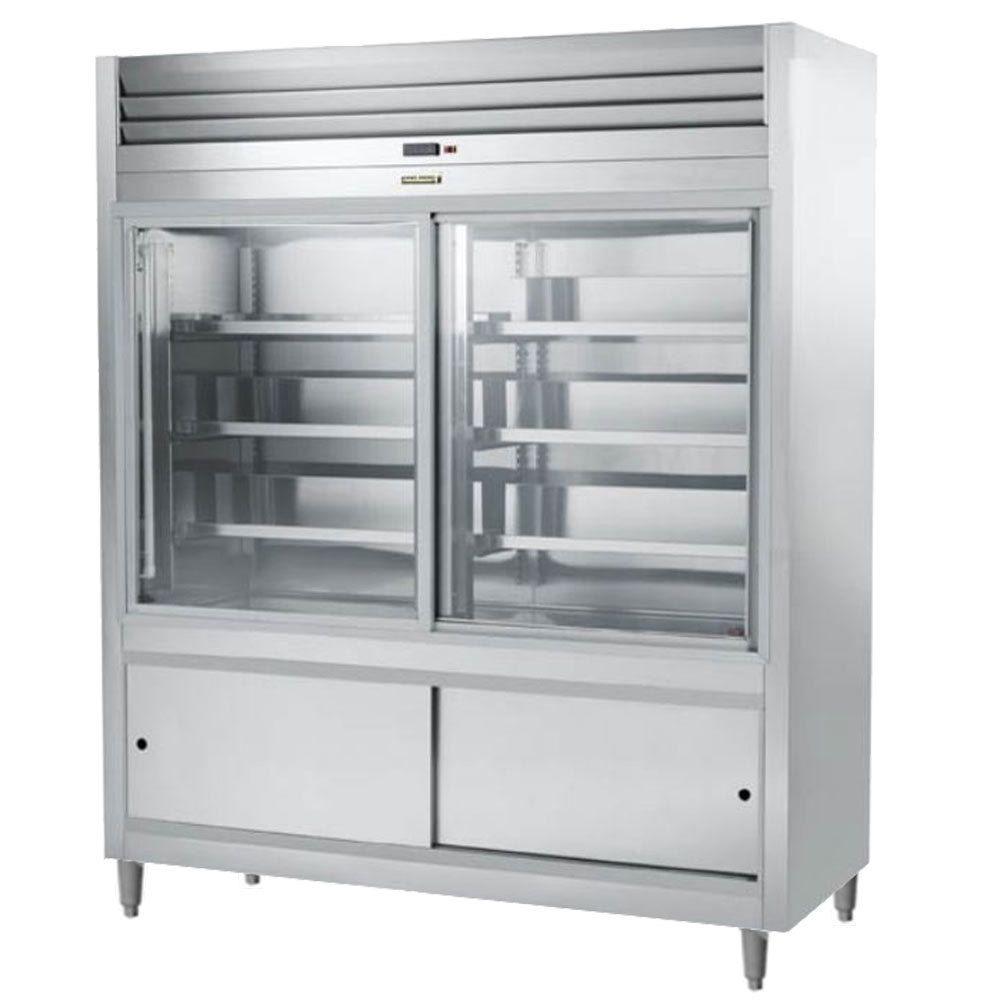 Traulsen Rs332n 1 46 Cu Ft Sliding Glass Door Refrigerated Deli