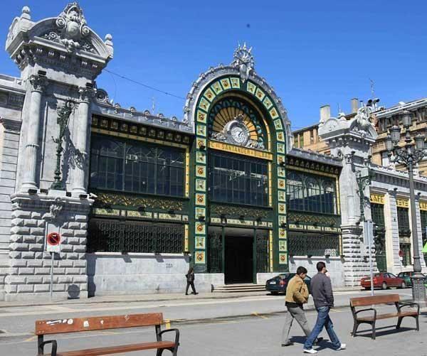 Estación de ferrocarril de La Concordia. Bilbao (Bizkaia)