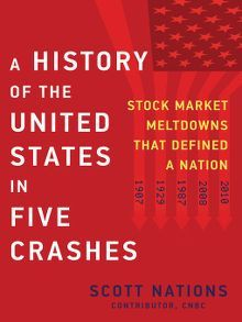 A History Of The United States In Five Crashes Stock